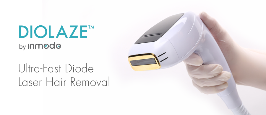 Diolaze logo and laser device