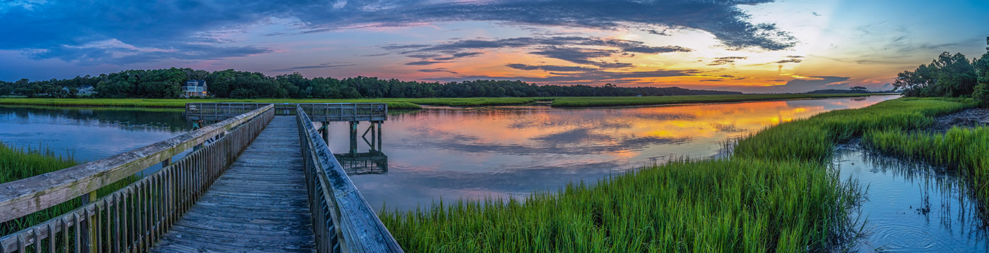 St. Simons Island Marsh Sunset