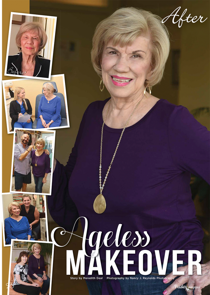 Ageless makeover cover photo