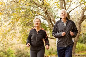 Older Couple Walking - Nutrient Support