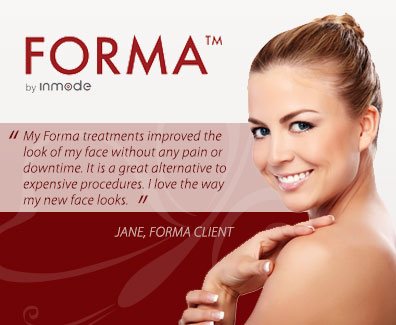 Forma by Inmode advertisement